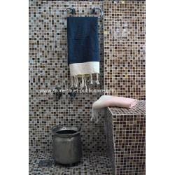 Fouta towel honeycomb texture