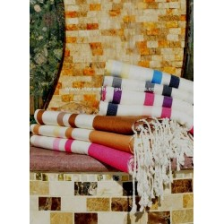Fouta towel three bands