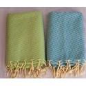 Fouta towel jacquard