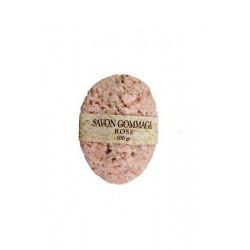 Savon de gommage végétal à la rose 100 g